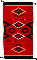 American Indian Art:Weavings, A Small Mexican Weaving...