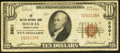 National Bank Notes:Pennsylvania, Halifax, PA - $10 1929 Ty. 1 The Halifax NB Ch. # 5601 Very Good-Fine.. ...