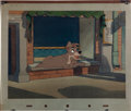 Animation Art:Production Cel, Lady and the Tramp Tramp Production Cel (Walt Disney,1955)....