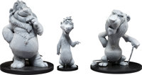 Father of the Pride Larry, Kate, and Sarmoti Maquettes Group of 3 (DreamWorks, 2004).... (Total: 3 Items)