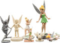 Animation Art:Maquette, Tinker Bell and the Lost Treasure Maquettes and Figurines Group of 7 (Walt Disney, 2009).... (Total: 7 Items)
