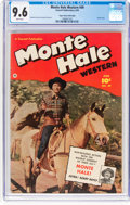 Golden Age (1938-1955):Western, Monte Hale Western #49 Mile High Pedigree (Fawcett Publications,1950) CGC NM+ 9.6 White pages....