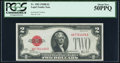 Small Size:Legal Tender Notes, Fr. 1503 $2 1928B Legal Tender Note. PCGS About New 50PPQ.. ...