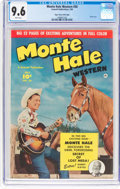 Golden Age (1938-1955):Western, Monte Hale Western #50 Mile High Pedigree (Fawcett Publications, 1950) CGC NM+ 9.6 White pages....