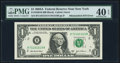 Error Notes:Mismatched Serial Numbers, Mismatched Serial Numbers Error Fr. 1930-B $1 2003A Federal Reserve Note. PMG Extremely Fine 40 EPQ.. ...