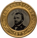 Political:Ferrotypes / Photo Badges (pre-1896), Ulysses S. Grant: Minty 1872 Back-to-Back Ferrotype.. ...