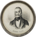 Henry Clay: Pewter-Rim Hand Mirror