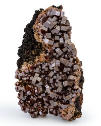 Vanadinite Morocco 4.02 x 2.33 x 1.87 inches (10.20 x 5.91 x 4.76 cm)