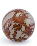 Lapidary Art:Eggs and Spheres, Noreena Jasper Sphere. Australia. 3.25 inches (8.25 cm) indiameter . ...
