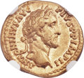 Ancients:Roman Imperial, Ancients: Antoninus Pius (AD 138-161). AV aureus (19mm, 7.12 gm, 6h). NGC XF 5/5 - 5/5....