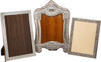 A Group of Three Egyptian and Greek Silver-Mounted Frames, 20th century Marks to Egyptian frames: (assay mark-900)... (T...