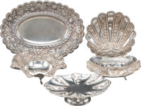 A Group of Five Silver Table Articles Including Egyptian, 20th century Marks to Egyptian table articles: (assay ma... (T...