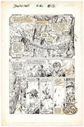 Original Comic Art:Panel Pages, Robert Brown and Rey Garcia Iron Fist #2 Story Page 13 Original Art (Marvel, 1996)....