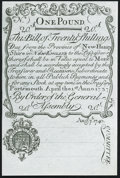 Colonial Notes:New Hampshire, New Hampshire Cohen Reprint April 1, 1737 Redated August 7, 174020s Very Choice New.. ...