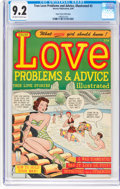 Golden Age (1938-1955):Romance, True Love Problems and Advice Illustrated #2 Mile High Pedigree(Harvey, 1949) CGC NM- 9.2 Off-white to white pages....