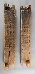 Tribal Art, A Pair of Palace Door Frames. Cameroon... (Total: 2 Items)