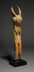 Tribal Art, A Most Unusual Dogon Architectural Support Post. Mali...