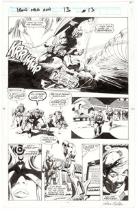 Gene Colan and Al Williamson Iron Man Annual #13 Story Page 13 Original Art (Marvel, 1992)