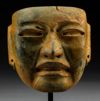An Important Olmec Mask c. 300-500 BC