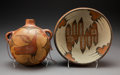 American Indian Art:Pottery, Two Zia Polychrome Vessels . c. 1940... (Total: 2 Items)