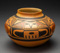 American Indian Art:Pottery, A Hopi Polychrome Jar . Fannie Nampeyo. c. 1970...