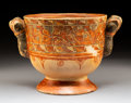 Pre-Columbian:Ceramics, A Large Papagayo Polychrome Bowl, Costa Ricac....