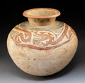 Pre-Columbian:Ceramics, A Heavily Restored Cocle Gourd-Shaped Vesselc....