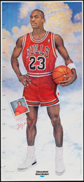 Basketball Collectibles:Others, c. 1990s Michael Jordan Poster Lot of 2.... (Total: 2 items)