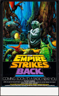 """Movie Posters:Science Fiction, The Empire Strikes Back (20th Century Fox, 1982). Rolled, Very Fine+. NPR Radio Promo Poster (17"""" X 28"""") Ralph McQuarrie Art..."""