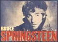 "Movie Posters:Rock and Roll, Bruce Springsteen (1984). Rolled, Very Fine. Promotional Posters(2) (33.25"" X 24"") 2 Styles. Rock and Roll.. ... (Total: 2 Items)"