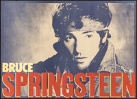 "Bruce Springsteen (1984). Rolled, Very Fine. Promotional Posters (2) (33.25"" X 24"") 2 Styles. Rock and Roll..."