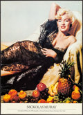 "Movie Posters:Miscellaneous, Marilyn Monroe by Nicholas Muray (Artistworks, 1988). Rolled,Fine/Very Fine. Museum Poster (20"" X 28""). Miscellaneous.. ..."
