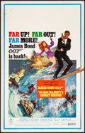 "Movie Posters:James Bond, On Her Majesty's Secret Service (United Artists, 1970). Very Fine-. Window Card (14"" X 22""). Frank McCarthy Artwork. James B..."