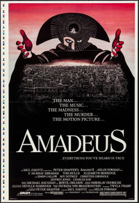 "Amadeus (Orion, 1984). Folded, Very Fine+. Printer's Proof One Sheet (28"" X 41""). Drama"