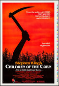 "Movie Posters:Horror, Children of the Corn (New World, 1984). Rolled, Very Fine+.Printer's Proof One Sheet (28"" X 41""). Horror.. ..."