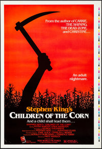 "Children of the Corn (New World, 1984). Rolled, Very Fine+. Printer's Proof One Sheet (28"" X 41""). Horror"
