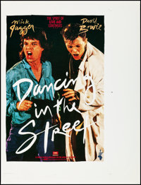 "Dancing in the Street (Music Motions, 1985). Rolled, Very Fine. Printer's Proof One Sheet (35"" X 46""). Rock an..."