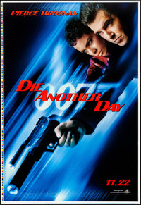 "Die Another Day (MGM, 2002). Rolled, Near Mint. Printer's Proof One Sheet (28"" X 41"") Advance. James Bond"