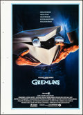 """Movie Posters:Horror, Gremlins (Warner Brothers, 1984). Rolled, Very Fine. Printer's Proof Spanish Language One Sheet (30"""" X 42""""). John Alvin Artw..."""