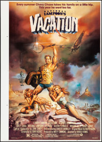 """National Lampoon's Vacation (Warner Brothers, 1983). Rolled, Very Fine+. Printer's Proof One Sheet (30"""" X 42"""")..."""