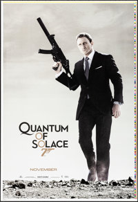 "Quantum of Solace (MGM, 2008). Rolled, Very Fine/Near Mint. Printer's Proof One Sheet (28"" X 41""). James Bond..."