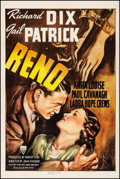 "Movie Posters:Drama, Reno (RKO, 1939). Very Fine- on Linen. One Sheet (27"" X 41"").Drama.. ..."
