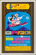 """Movie Posters:Animation, 1001 Arabian Nights & Other Lot (Columbia, 1959). Folded, Very Fine. One Sheets (5) (27"""" X 41"""") & Half Sheet (22"""" X 28""""). An... (Total: 2 Items)"""
