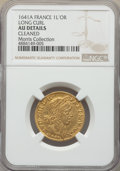 France, France: Louis XIII gold Louis d'Or 1641-A AU Details (Cleaned) NGC,...
