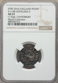 Great Britain, Great Britain: Kings of All England. Aethelred II (978-1016) Penny ND (c. 991-997) AU53 NGC,...