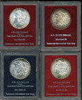 Additional Certified Coins: , 1882 S$1 Morgan Dollar MS65 Paramount (MS64),... (4 Coins)