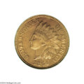 Proof Indian Cents: , 1864 1C L On Ribbon PR64 Red PCGS....