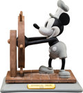 "Animation Art:Maquette, ""Steamboat Willie"" Mickey Mouse Disneyana Limited Edition Bisque(Walt Disney, 1992)...."