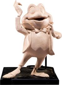 The Adventures of Ichabod Crane Mr. Toad Maquette Sculpted by Harry Holt (Walt Disney, c. 1960s-70s)