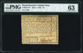 Colonial Notes:Massachusetts, Massachusetts May 5, 1780 $2 PMG Choice Uncirculated 63.. ...